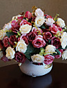 Polyester Roser Konstgjorda blommor