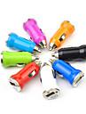 lebosh mini billaddare USB-laddare laddning cigarettändare bullet 1a randomcolor