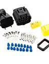 auto fordon 8 sätt vattentät elektrisk tråd kabelkontakt kit tålig