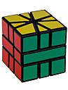 Shengshou® Mjuk hastighetskub 3*3*3 professionell nivå Magiska kuber Svart Blekna ABS