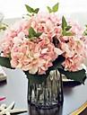 Une succursale Soie Hortensias Fleur de Table Fleurs artificielles 46*19*19cm