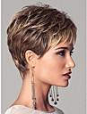 europeiska dam kvinnor korta syntetisk våg peruker förlängningar vacker peruk