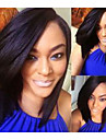 10-12 Inch Short Bob Side Part Remy Virgin Peruvian Human Hair Lace Front Wigs