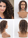 14 tuuman täynnä pitsiä peruukit 100% hiuksista täynnä pitsiä aaltoileva tyyli hiuksista intialainen neitsyt peruukit naisille