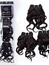 Tissages de cheveux humains Cheveux Peruviens Ondulation naturelle 12 mois 3 Pieces tissages de cheveux