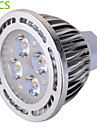 6W GU5.3(MR16) LED-spotlights MR16 4 SMD 540 lm Varmvit / Kallvit Dekorativ AC 85-265 / AC 12 V 5 st