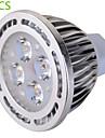6W GU5.3(MR16) LED-spotlights MR16 4 SMD 540 lm Varmvit / Kallvit Dekorativ AC 85-265 / AC 12 V 5 st