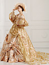 Steampunk®Georgian Gold Victorian Party Gown Marie Antoinette Wholesalelolita Rococo Princess Dress