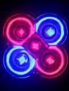 MORSEN® Full Spectrum LED Grow lights 10W E27/GU10 3Red+2Blue LED Grow bulb for Flower plant Hydroponics System