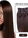 """22 """"pouces clip en extensions de cheveux-huit futura integral Head Set-100 grammes de cheveux par paquet"""