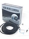 7m USB etanche 2,0 cmos serpent lentille 7mm 6-conduit camera HD endoscope