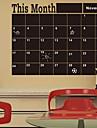 Svarta tavlan / Fashion / abstrakt Wall Stickers Väggklistermärke i svarta tavlanstil , Vinyl stickers 60*92cm