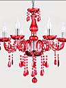 Max 40W Contemporain Cristal / Ampoule incluse Verre LustreSalle de sejour / Chambre a coucher / Salle a manger / Cuisine / Salle de bain