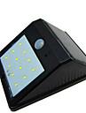 de haute qualite impermeable a l\'eau solaire 12 a mene la lampe exterieure lampe a induction du corps / lampe de mur / jardin cour balcon