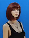 Europa och Förenta staterna säljer en strykande åtgång vinröd hår bob peruk flickor