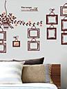크리스마스 / 플로럴 / 휴일 / 풍경 벽 스티커 플레인 월스티커 , pvc 60x90x0.1cm
