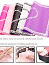1pcs outils de l\'art de la dentelle rectangle pad manucure d\'ongle (couleur aleatoire)