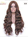 8a brasilianskt hår snör åt människohår peruker brasiliansk förkroppsligar vinkar snör åt beklär wigen limfria fullt spets peruk för