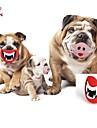 Jouet pour Chien Jouets pour Animaux Jouets de mastication Levres Rouge Incanardin Caoutchouc