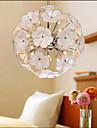 The Glass Ball Flower Garden Shops Warm Study Chandelier
