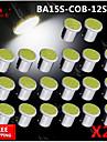 20x torchis blanc LED Super Bright BA15s cms 1156 voiture de l\'arriere ampoule de signal tour de lumiere 12v