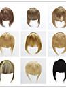 bangs ou des franges les cheveux raides humaine 3clips 30g clip dans les extensions de cheveux sur Livraison gratuite janet colorees