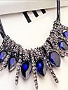 Dame Coliere Cristal Aliaj La modă Declaratie de bijuterii Culoare ecran Bijuterii Ocazie specială Zi de Naștere