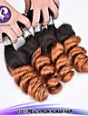 """nouveaux arrivee 3 pcs / lot 12 """"-24"""" couleur de cheveux bresiliens cheveux vierges lache ombre d\'onde 1b / 30 non transformes cheveu"""