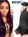 """3 st / lot 8 """"-30"""" 6a malaysiska jungfru raka hårförlängningar 100% obearbetat jungfru människohår väver"""