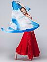 Belly Dance/Yoga/Performance Stage Props Women\'s Performance/Training Silk Tie Dye 1 Piece Yellow/Burgundy/Sky blue