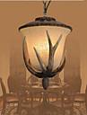 40W Ljuskronor ,  Traditionell/Klassisk / Rustik/Stuga / Rustik / Vintage Målning Särdrag for Ministil MetallLiving Room / Bedroom /