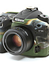 dengpin® blindage souple en silicone camera en caoutchouc de la peau de cas de couverture sac pour Nikon D7100 d7200