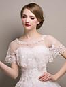 Shawls Shawls Sleeveless Lace / Tulle Ivory Wedding / Party/Evening Scoop Lace