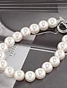 Dame Bratari Strand Perle Imitație de Perle Design Unic La modă Bijuterii Alb Bijuterii 1 buc