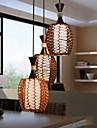 1PCS E27 17*20CM Cany Art Weaving Classical Contracted Droplight Led Lamp Light