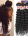 """3 pieces / lot 8 """"-28"""" 8a vague profonde malaisien vierge trame de cheveux humains remy 100% non transformes cheveu humain tisse"""