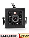 camara ahd de mini 10pcs invisible leds 940nm ir 0.001Lux camara de vision nocturna CCTV para 720p / 960p / 1080p