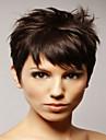 billigaste priset naturliga färg kort syntheic peruk