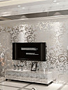 Decoration artistique Papier peint Contemporain Revetement , Intisse Materiel adhesif requisChambre Wallcovering