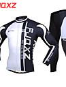 FJQXZ® Maillot et Cuissard Long de Cyclisme Homme Manches longues VeloRespirable / Garder au chaud / Sechage rapide / Pare-vent /