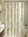 Modern Polyester 180cm*180cm  -  Hög kvalitet Duschdraperi