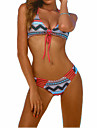 Femei De Acoperit / Bikini Femei Cu Susținere Monocolor / Floral Fără Întăritură Polyester