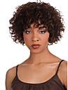 ms afrikansk brun peruk klädstil hög temperatur tråd kort lockigt hår peruk
