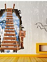 Creative3D Pvc Wall Scaling Ladder For Home Decoration Removable Waterproof Diy Backdrop Wallpapers