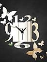 Rond Moderne/Contemporain / Casual / Office/Business Horloge murale,Vacances / Niches / Inspire / Amis / Anniversaire / Mariage / Famille