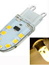 3W G9 LED a Double Broches Encastree Moderne 14 SMD 2835 200-300 lm Blanc Chaud Gradable / Decorative AC 100-240 V 1 piece