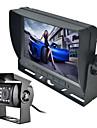 renepai® 7 inch monitor fără fir 170 ° HD Camera de luat vederi masina de autobuz din spate + magistrală de înaltă definiție cu unghi larg