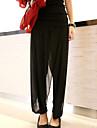 Femei Femei Pantaloni Plus Size / Șic Stradă Lejer / Harem Acrilic / Poliester Inelastic