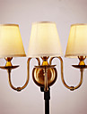 AC 220-240 5 E12/E14 Rustiek/landelijk Galvanisch verzilveren Kenmerk for Ministijl,Toortswandlamp Muurlampen Muur licht