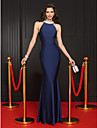 TS Couture® Formal Evening Dress Trumpet / Mermaid Jewel Floor-length Jersey with Beading